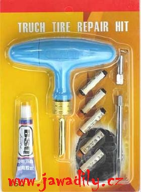 Souprava pro opravu bezdušových pneu - 10dílů