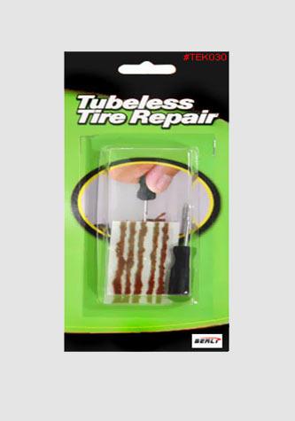Souprava pro opravu bezdušových pneu - Moto, Velo