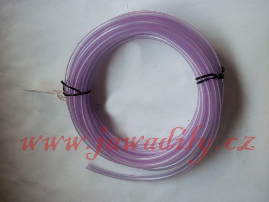 Palivová hadička 6x1,5mm, délka 100mm