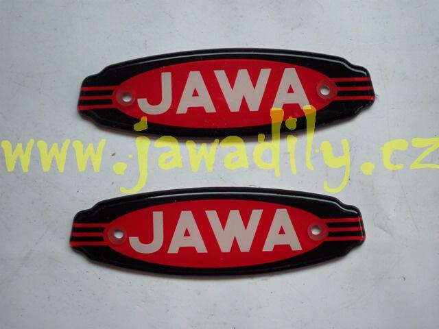 Logo JAWA na nádrž - Californian ( SADA )