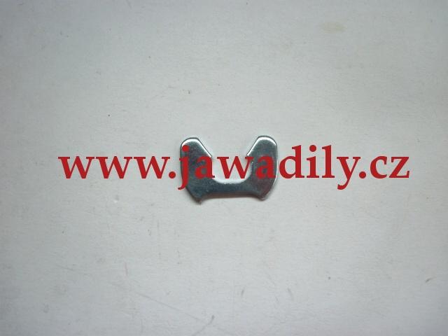 Pojistka zadní stupačky - Jawa, ČZ + Jawa 350/634-640