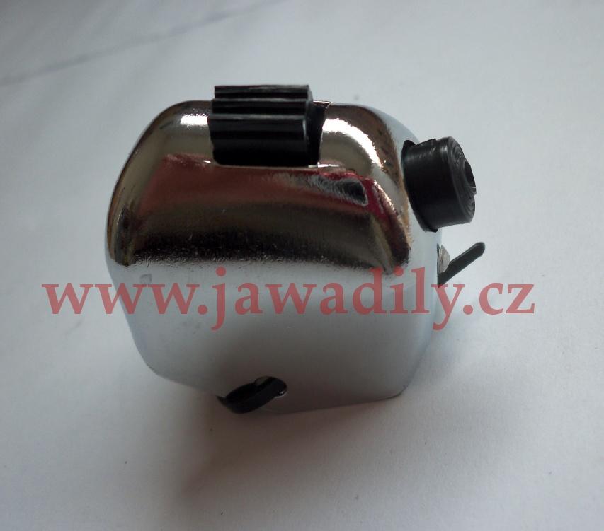 Přepínač světel + klakson - Jawa, ČZ 6V - chrom