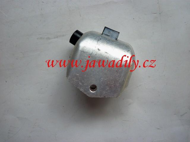 Přepínač světel + klakson - Jawa, ČZ 6V hliník