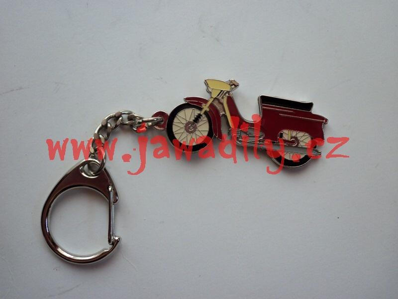 Přívěšek na klíče - Jawa pionýr 21