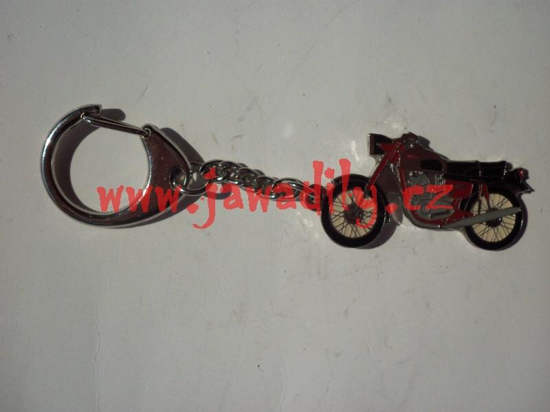 Přívěšek na klíče - Jawa 350 Californian