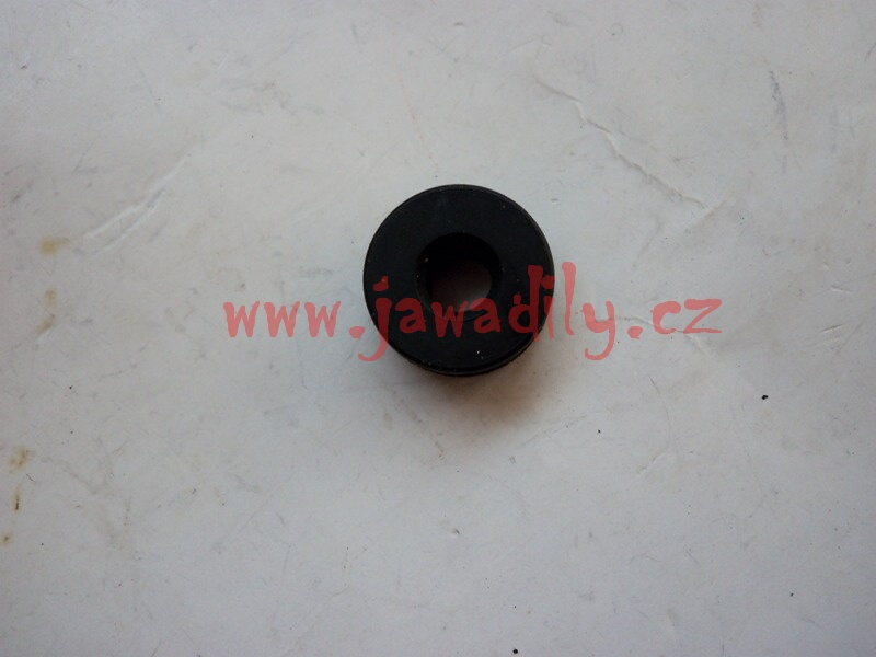 Průchodka krytu boční schránky - Jawa 350/639-640