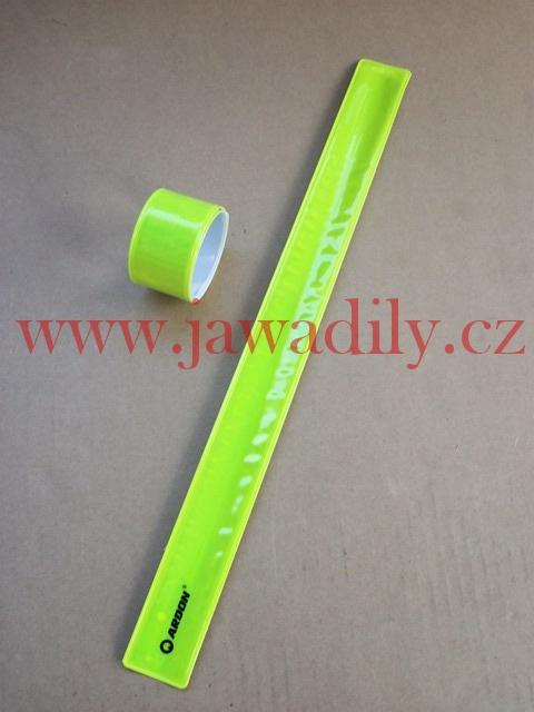 Bezpečnostní reflexní pásek - žlutý