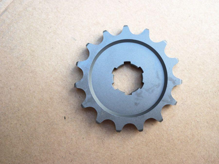Řetězové kolečko - 15 zubů - MZ ETZ 150, ČZ