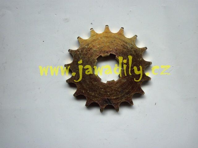 Řetězové kolečko - 17 zubů - Jawa 350/634-640
