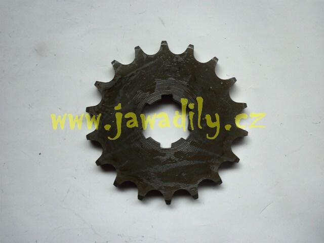 Řetězové kolečko 18 zubů - Jawa 350/634-640