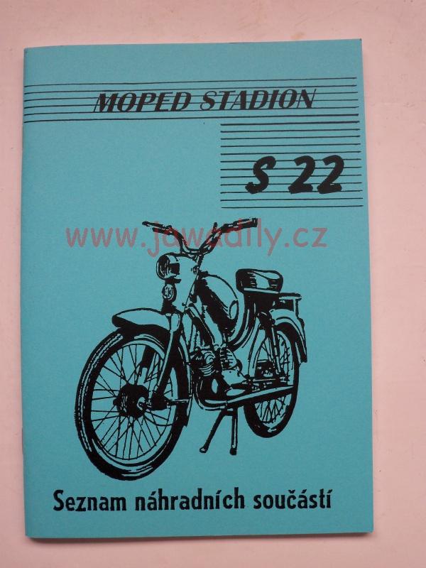 Katalog náhradních dílů - Stadion S 22