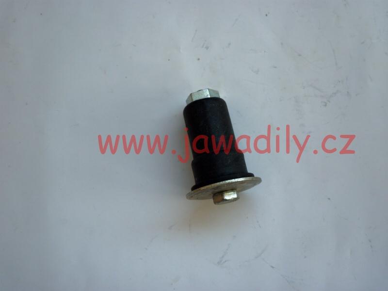 Silentblok nádrže (zadní) - Jawa 350/634-640