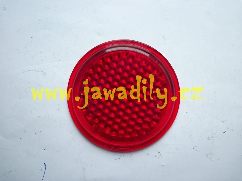 Odrazka (sklo) zadního blatníku - Jawa,ČZ