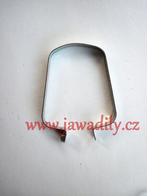 Objímka manžety řetězu - zadní -Jawa 350/634-640
