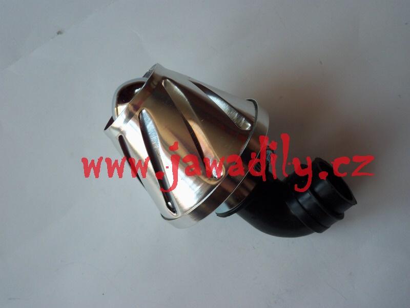 Sportovní vzduchový filtr - Skútr tuning (stříbrný)