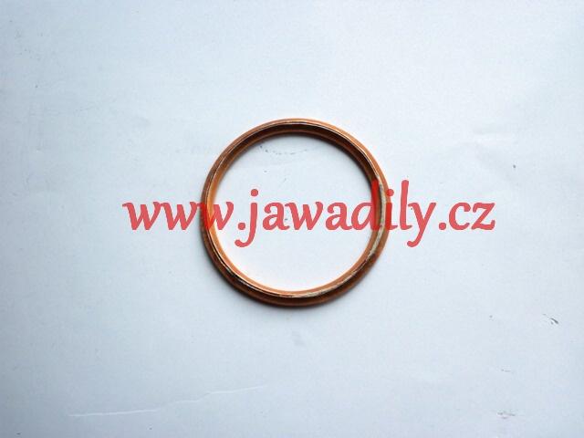 Těsnící kroužek kolena výfuku - Jawa 250,350,500ccm, MZ