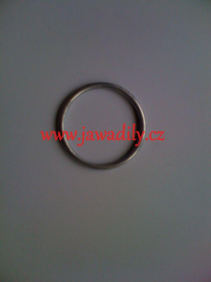 Těsnící kroužek kolena výfuku - Jawa, ČZ - Kývačka 125,175