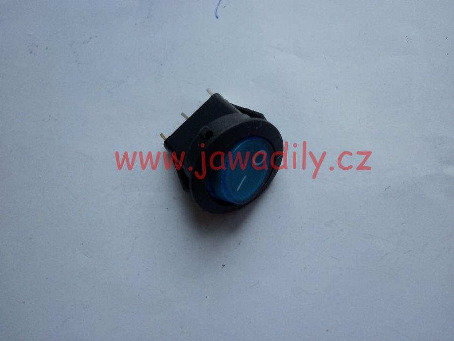 Kolébkový vypínač - modrý