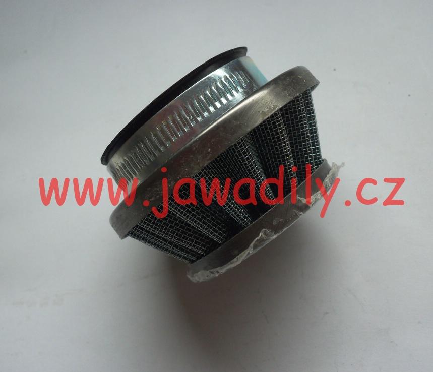 Sportovní vzduchový filtr včetně příruby - minibike, cross, ATV