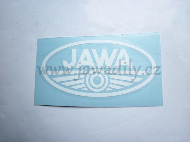 Logo JAWA - bílé
