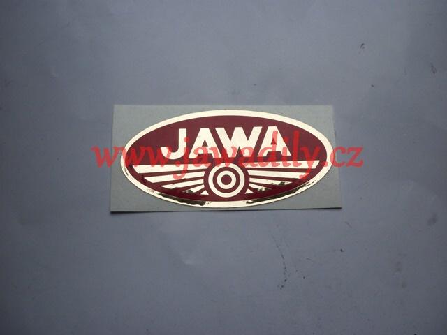 Logo JAWA - červenozlatá